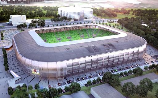 Tarlós István jelenlétében tették le az új FTC-stadion alapkövét | kép forrása: B-virtual, budapest.hu