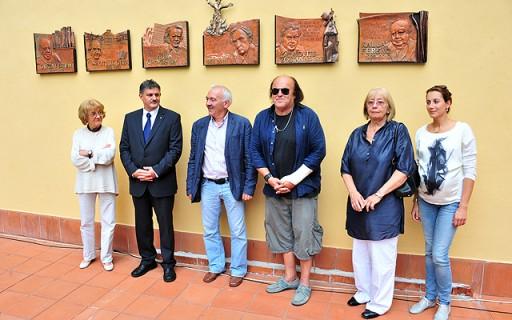 Híres vendégek kaptak emléktáblát a Szent Lukács Gyógyfürdőben   kép forrása: www.budapest.hu / Majtényi Mihály