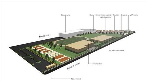 Sportközpont jöhet létre a józsefvárosi kínai piac területén