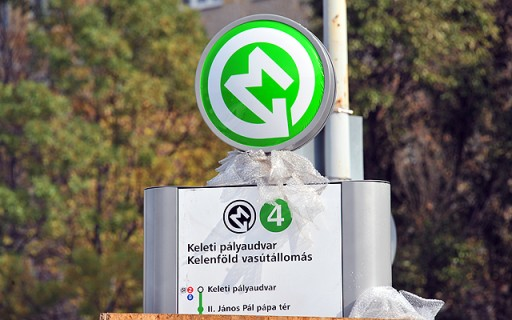 Szombattól él a 4-es metró miatt bevezetendő felszíni közlekedési rend | kép forrása: www.budapest.hu / Majtényi Mihály
