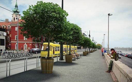 Megkezdődött a budai fonódó villamoshálózat építése | kép forrása: www.budapest.hu