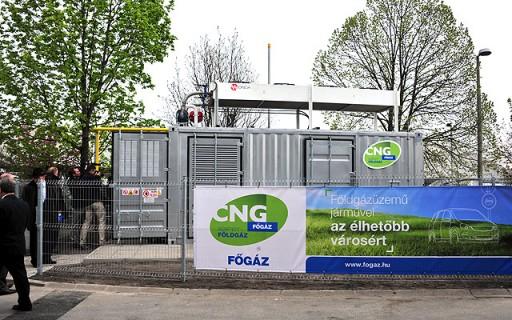 Megnyílt a második budapesti CNG-töltőállomás | kép forrása: www.budapest.hu / Majtényi Mihály