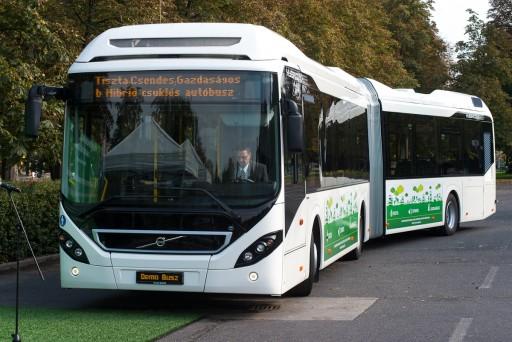 Novembertől új hibrid autóbuszok közlekednek Budapesten | kép forrása: www.bkk.hu