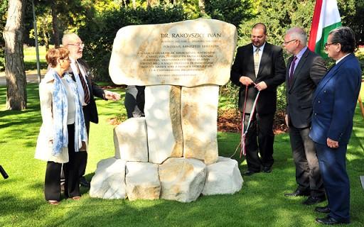 Átadták Rakovszky Iván egykori miniszter emlékhelyét a Margitszigeten | kép forrása: www.budapest.hu
