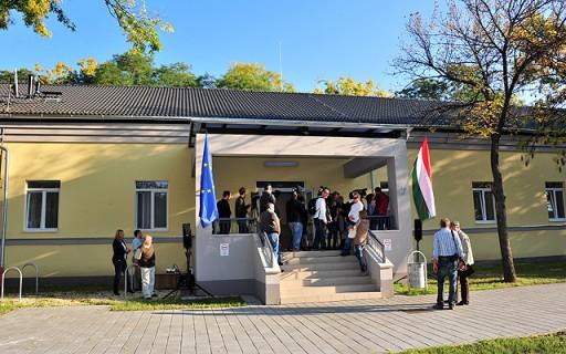 Új rendőrszállót adtak át Budapesten | kép forrása: www.budapest.hu / Majtényi Mihály