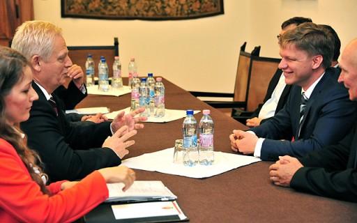 Prága főpolgármesterével találkozott Tarlós István | kép forrása: www.budapest.hu / Majtényi Mihály