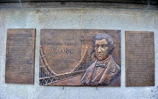 Felavatták Budapesten a Lánchíd angol tervezőjének emléktábláját | kép forrása: www.budapest.hu / Majtényi Mihály