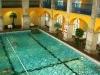 Rudas Gyógyfürdő - úszómedence az emeletről letekintve
