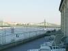 Rudas Gyógyfürdő - napozóterasz a Duna felöli oldalon
