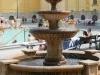 Széchenyi Gyógyfürdő és Uszoda - szőkőkút a belső udvaron