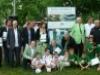Mini futballpályát avattak a Fradi születésnapja alkalmából