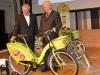Bemutatták a Bubi közbiciklirendszer első kerékpárjait | kép forrása: www.budapest.hu / Sikó Zsuzsanna