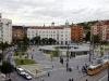 Elkészült a Gomba épülete a budapesti Móricz Zsigmond körtéren | kép forrása: MTI / Beliczay László