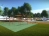 Augusztusra elkészülhet az ingyenesen használható sportpark Óbudán | kép forrása: www.obuda.hu