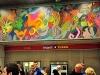 Mexikói muralista festő képe díszíti a Keleti pályaudvar metrómegállót | kép forrása: www.budapest.hu / Majtényi Mihály