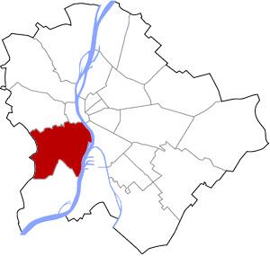 Budapest 11 elhelyezkedése a térképen