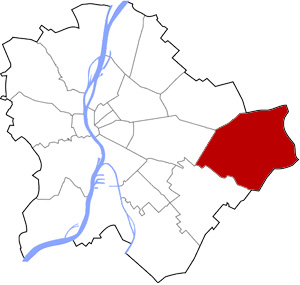 Budapest 17 elhelyezkedése a térképen