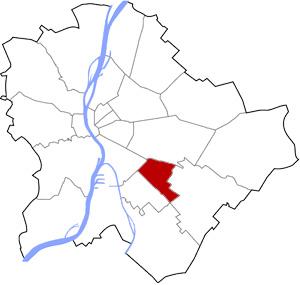 Budapest 19 elhelyezkedése a térképen