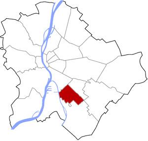 Budapest 20 elhelyezkedése a térképen