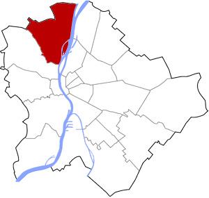 Budapest 3 elhelyezkedése a térképen