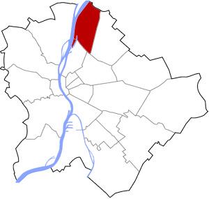 Budapest 4 elhelyezkedése a térképen