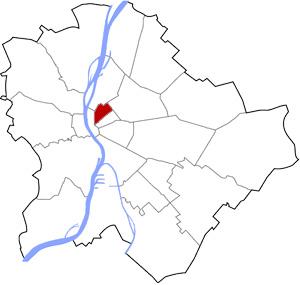Budapest 6 elhelyezkedése a térképen