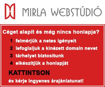 Honlapkészítés - Mirla Webstúdió